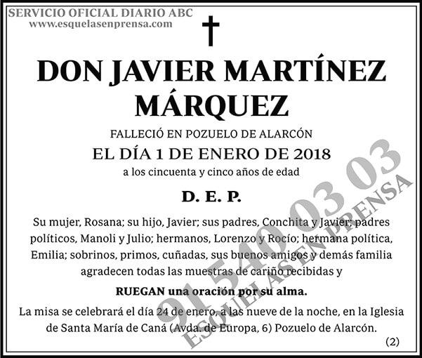Javier Martínez Márquez